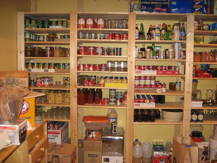 Custom Swedish Shelves Mega Pantry Via Homesteading