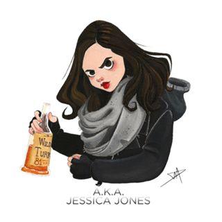 Almofada Jessica Jones do Studio Daniellepioli por R$45,00