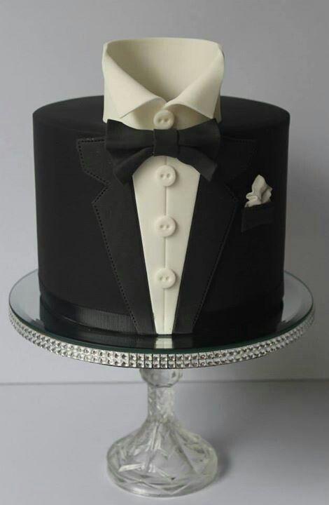 Tux cake