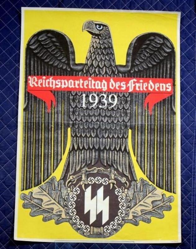 """Entre 1923 y 1938, el partido nazi organizaba mitines anuales en la ciudad de Núremberg. Eran enormes actos de propaganda, a los cuales asistían los militantes más enfervorizados.     El congreso de 1939 estaba programado para el 2 de septiembre y se titulaba """"Mitín por la paz"""" (Reichsparteitag des Friedens). Sin embargo, tuvo que ser suspendido para dar curso a la invasión a Polonia un día antes, y dar así inicio a la guerra más grande la historia de la humanidad."""