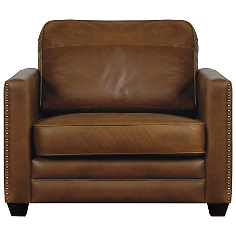 Buy John Lewis Hudson Leather Snugglers Online at johnlewis.com