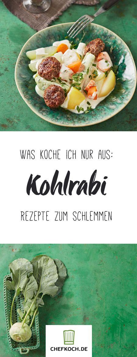 Kohlrabi – Warenkunde, Kochschule und Rezepte