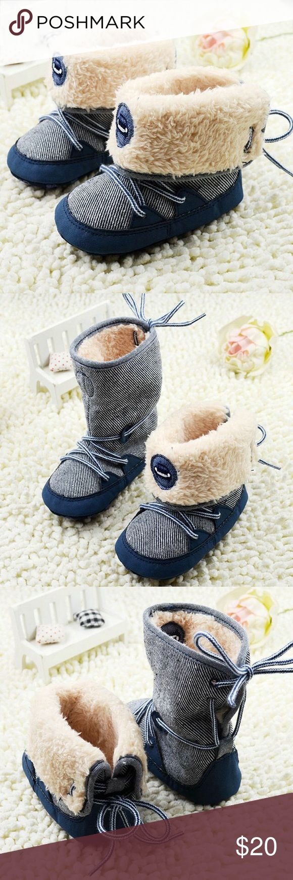 Toddler Baby Snow Boots Winter Warm Shoes Size Newborn to 18 Months Baby Girls Boys Winter Boots Faux Fur Lined Shoes Anti-slip Prewalker Shoes 100% Brand New & High Quality Material: Cotton Blend +Faux Fur Features & Fastening:Laces/Lace up Style:Baby Boots Color:Navy Size: Fit For 0-18 Months Baby.                               Ab147 - 1 Corinthians 13:13  Shoes Baby & Walker