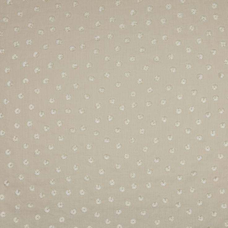 Jane Churchill Pom Pom cream Fabric - Colefax and Fowler