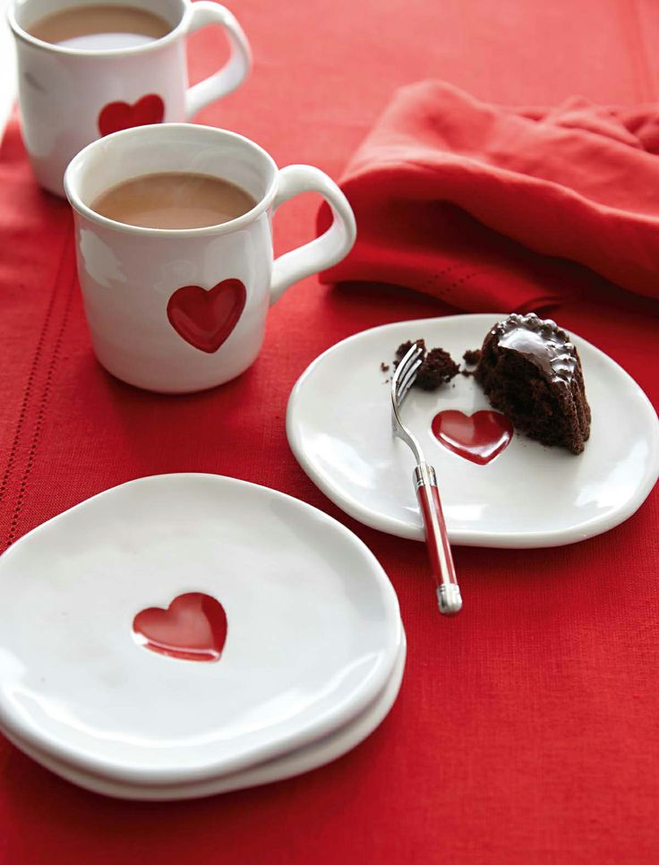 Attractive Sweet Plates For Sweet Treats Photo
