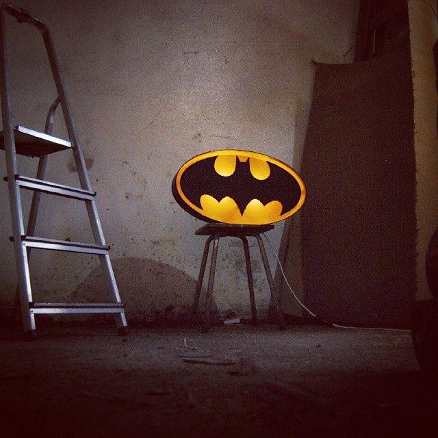 batman marquee light by Hernstag