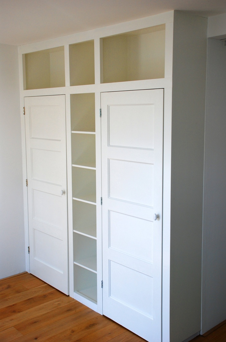 Great Idea For Creating A Closet In A Room Without One.