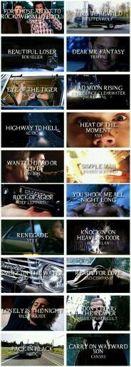 Supernatural Songs