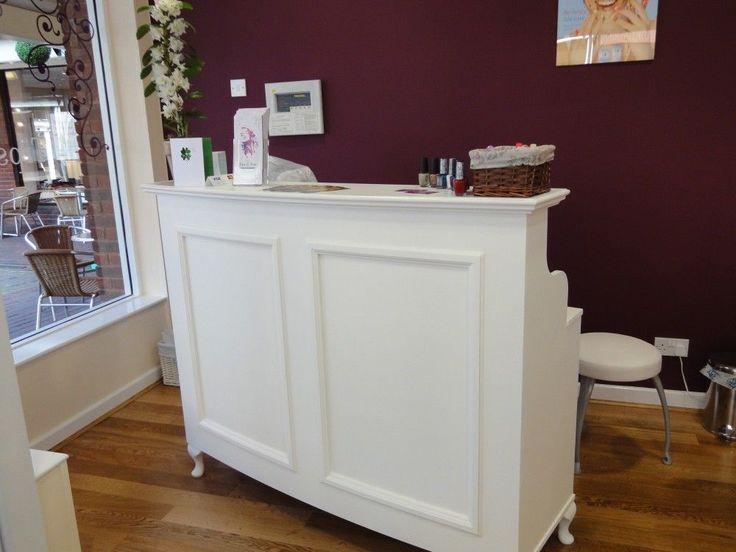 Reception Desk Cash Desk Salon And Retail French Style