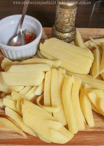Patatas fritas al horno con hierbas y especias | Cocina  – Papas con hierbas al …