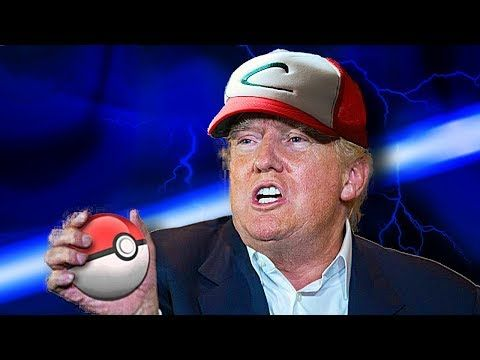 Donald Trump Singing The Pokemon Theme Song - YouTube