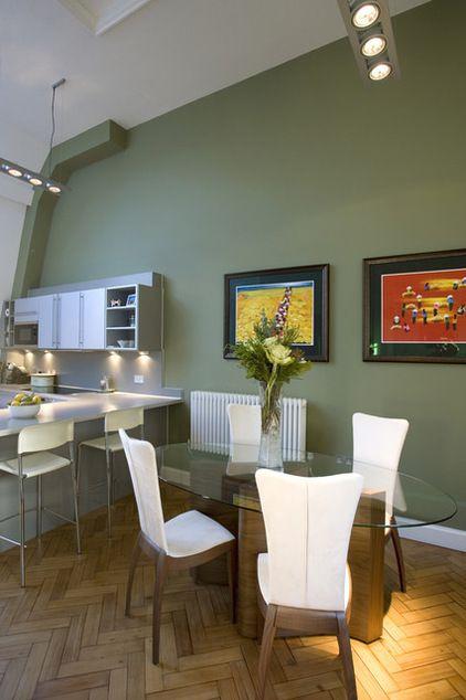 contemporary kitchen by Adrienne Chinn