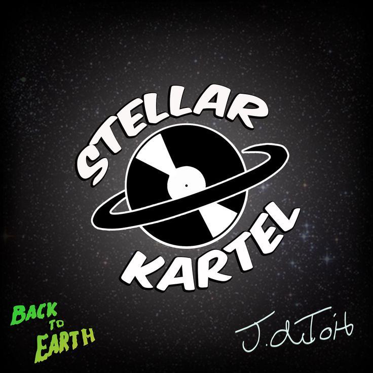 Logo design for a local DJ - Stellar Kartel, for his upcoming album  https://www.facebook.com/bystellarkartel https://www.facebook.com/BackToEarthArtist