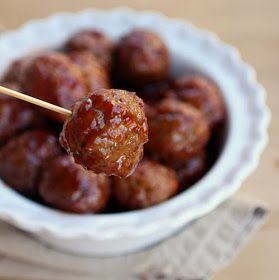 Light and Sweet: Sweet and Sour Meatballs