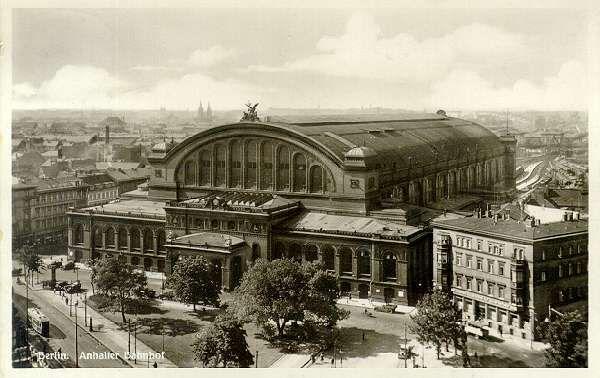 Anhalter Bahnhof, Berlin, Germany