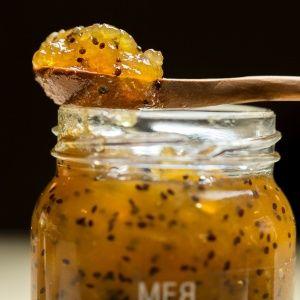 Geleia de Kiwi com Cachaça
