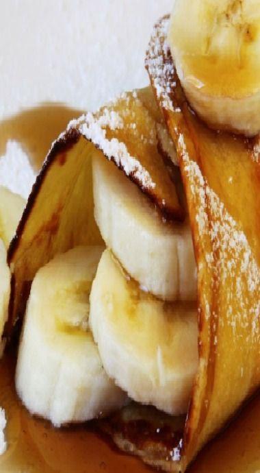 Banana Crepes | Desserts | Pinterest