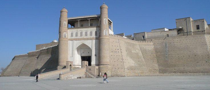 Ciudadela Ark, La Fortaleza Ark - el antiguo símbolo del poder del Estado. El palacio de los gobernantes de Bujara hasta 1920.