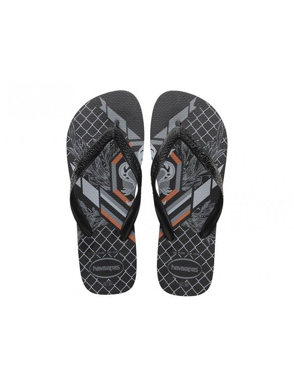 Havaianas Bravo slipper - zwart / combi. Man WomenSlipperShoes SandalsBedroom  Slippers