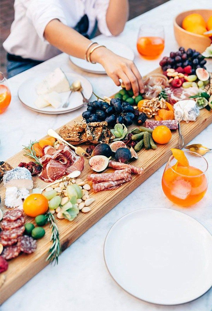 Boho On PInterest - cheese board idea