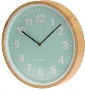 """Pastelowy zegar ścienny """"Peak"""" - turkusowy"""