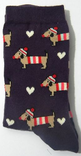 Dachshunds with Hat Socks - Dachshund Rescue of North America - Doxie Store