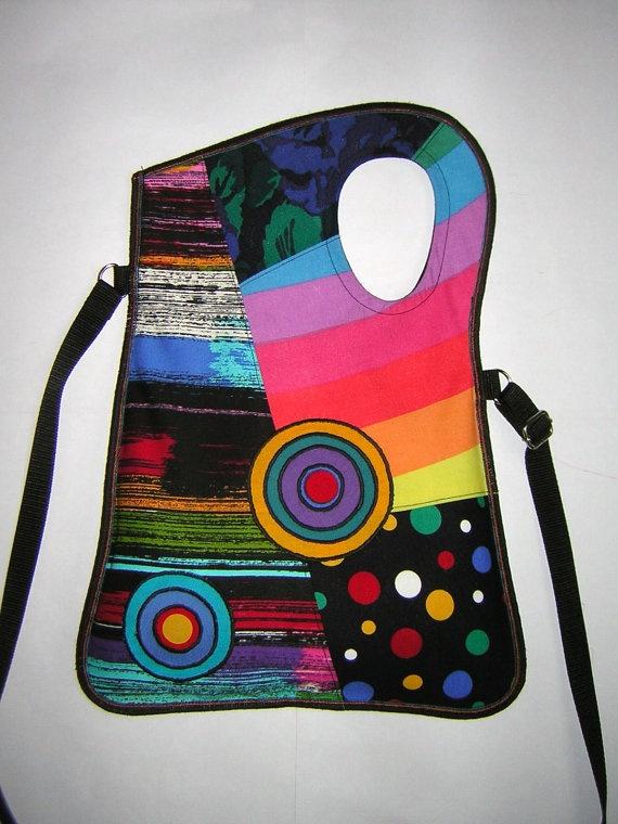 2in1 MEDIUM BAG haversack cross body bag hip bag iPad by mocsi61, $39.00