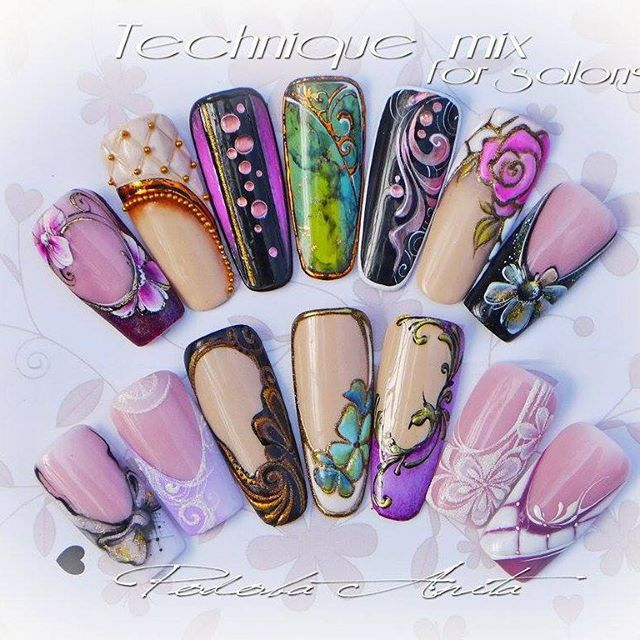26 best Anita Podoba Nails ♥ images on Pinterest | Nail scissors ...