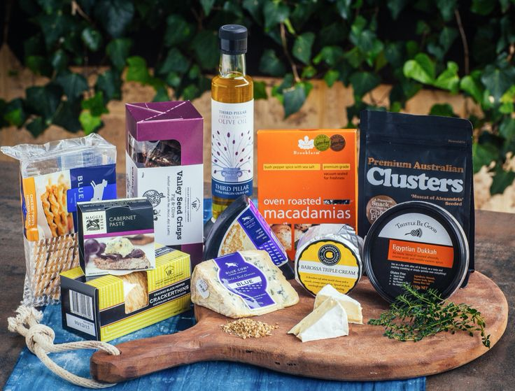 Let's Share Hamper -  A prime selection of Cheddar, Triple Cream, Blue Cheese, crackers & gourmet essentials to share with your special friends anytime. Price $100.00 Delivery $25.00