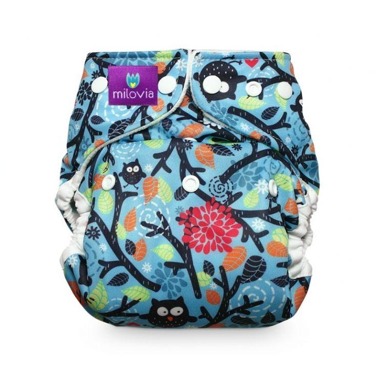Milovia Cover OS Mysterious Owls - leuke print weer van 4-16kg