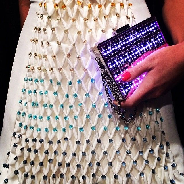 CuteCircuit's iPhone Controlled Fashions at NYFW - Fashioning Technology
