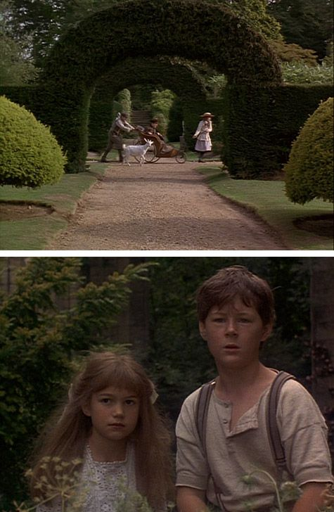 The Secret Garden. I had the BIGGEST crush on Dickon when I was little! One of my favorite movies ever ever ever