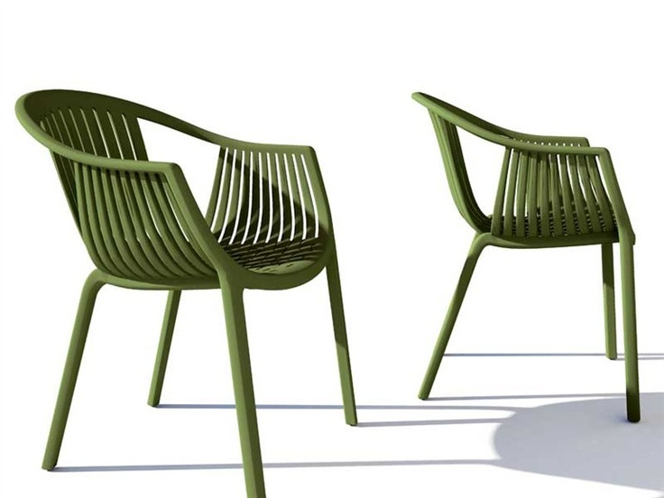 Stackable polypropylene Garden chair TATAMI 306 by PEDRALI | Design Claudio  Dondoli, Marco Pocci