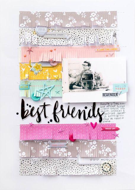 Alena Grinchuk: Best friends