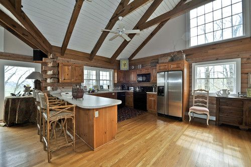 Wide open kitchen in just one of the homes on tim mcgraw for Mcgraw hill real estate