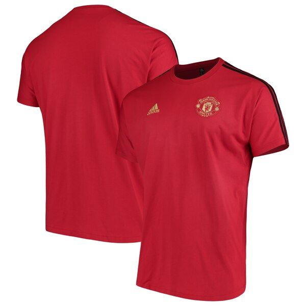 Manchester United Adidas Chinese New Year T Shirt Red Manchesterunited You Love The Chinese New Year And Want To In 2020 Mens Tops Mens Polo Shirts Athletic Jacket
