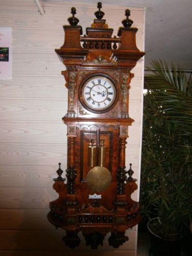 Alte Uhr Regulator Gustav Becker