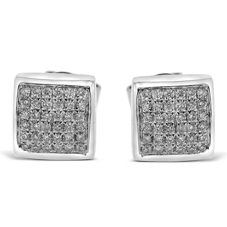lekima Three Row Faux Diamond Pendant Rhinestone Stud Earrings inoxydbale Steel Earrings Jewellery Gift t70pcbp