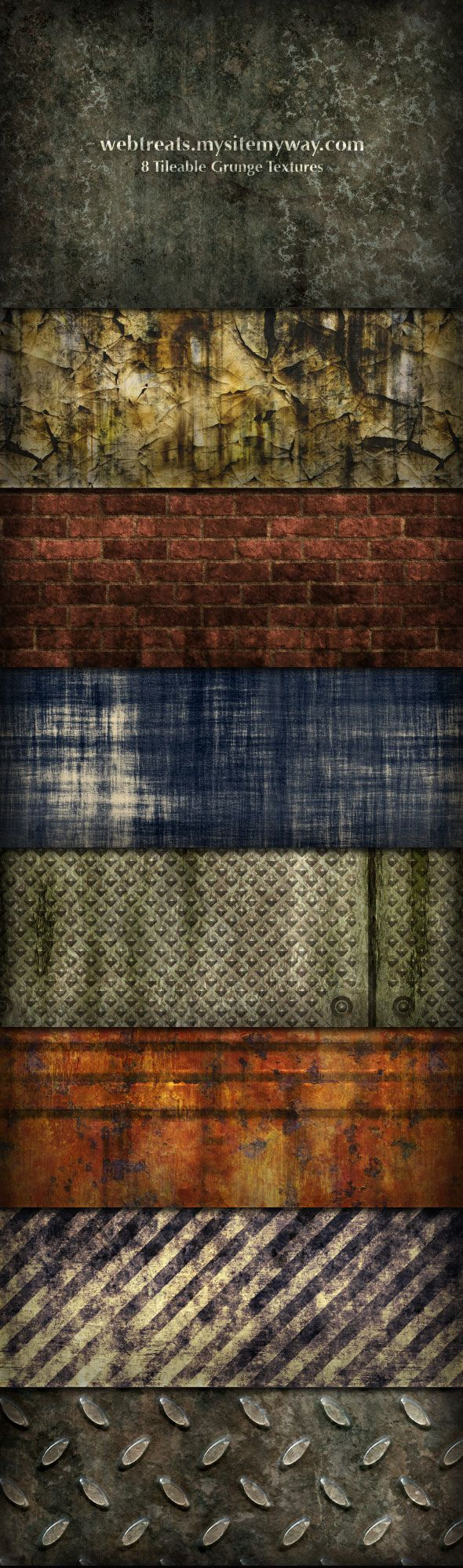 Grunge Textures and Patterns by WebTreatsETC.deviantart.com on @deviantART
