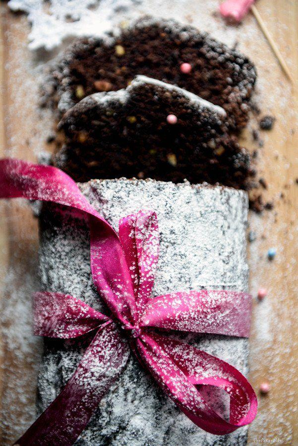 Poświąteczne ciasto bananowe z czekoladą i pistacjami