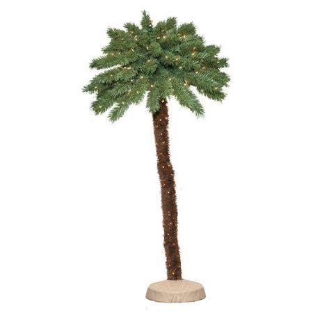General Foam Plastics Green Tropical Artificial Christmas Palm Tree II