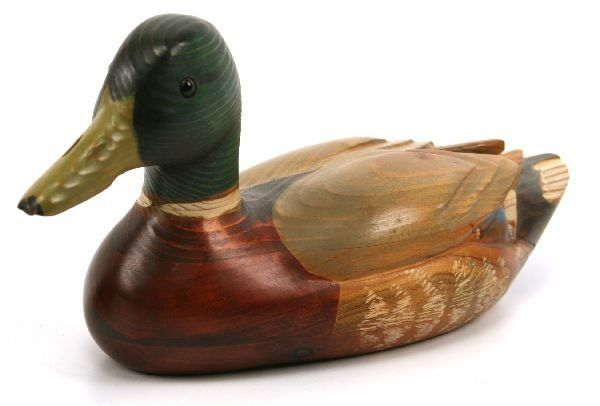 Vintage Wooden Duck Decoy Lot Of 2 Lot 69025a Homedesign In