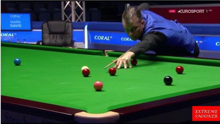 Marco Fu vs Mark Davis QF full match Coral Scotish Open 2016