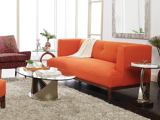 scandinavian designs lamare sofa sleek low profile lines