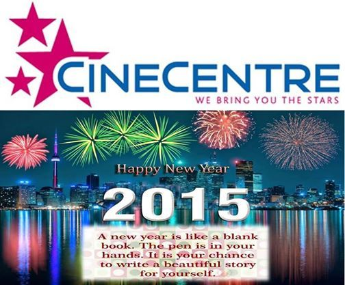 CineCentre wishes all patrons a #HappyNewYear . We look forward to another fun filled year with you ! www.cinecentre.co.za