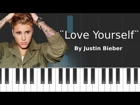 Justin Bieber - ''Love Yourself'' Piano Tutorial - Chords ...