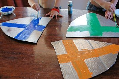 Cultivated Lives: Knights-in-the-Making    Wall Decorations?