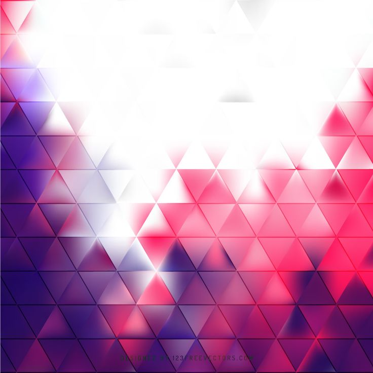 Abstract Purple Pink Triangle Background Template  - https://www.123freevectors.com/abstract-purple-pink-triangle-background-template-81252/