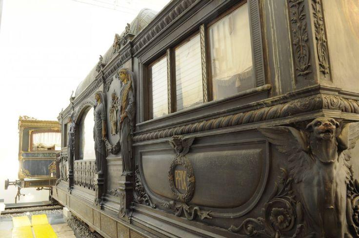 Roma, al Museo Montemartini apre la sala del Treno di Pio IX