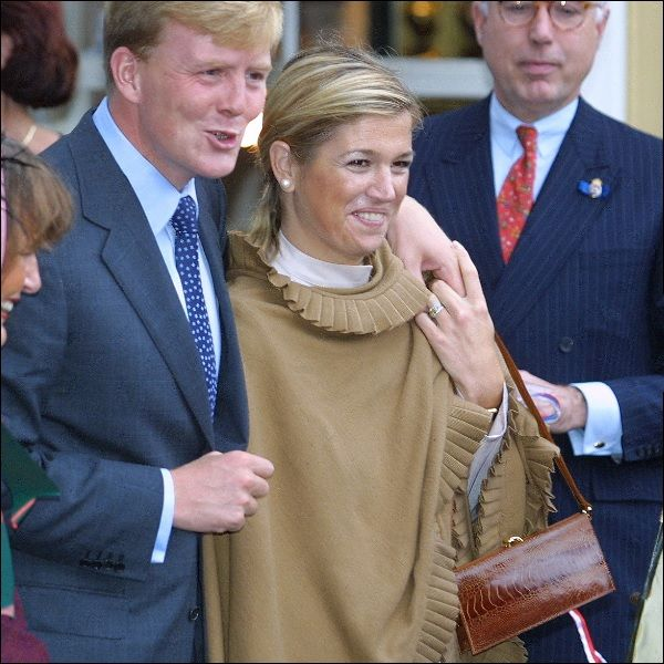 Prince Willem Alexander and princess Maxima. On 30 April 2013 they became Kingsday and Queen of the Netherlands.